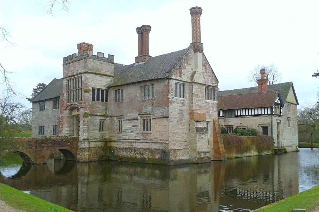 Medieval Baddesley Clinton Has A Moated Manor